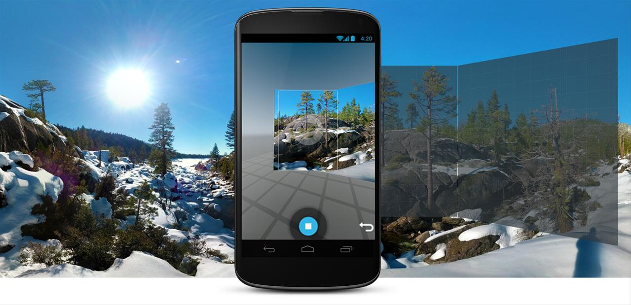 Panoramiques à 360° : Photo Sphere Camera de Google débarque sur iOS